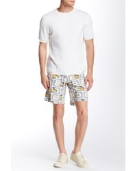 Moschino - White Dollar Bill Short for Men - Lyst