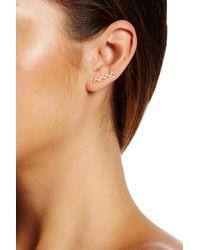 Gorjana | Metallic Cress Shimmer Ear Climbers | Lyst