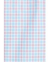 Jeremy Argyle Nyc - Blue Comfort Fit Plaid Sport Shirt for Men - Lyst