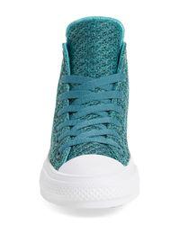 Converse - Blue Chuck Taylor All Star 'chuck Ii' Mesh High Top Sneaker for Men - Lyst