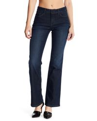 NYDJ - Blue Barbara Bootcut Slim Fit Jeans - Lyst