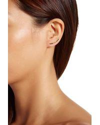 Gorjana | Metallic 18k Gold Plated Taner Bar Shimmer Ear Climbers | Lyst