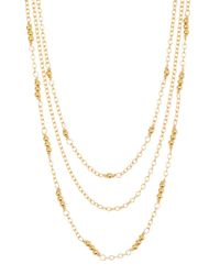 Gorjana | Metallic Joplin Layered Necklace | Lyst