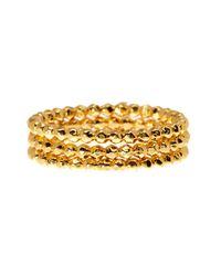 Gorjana | Metallic Marlow Beaded Ring Set - Size 8 | Lyst