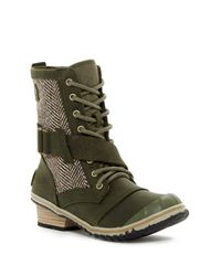 Sorel | Green Slimboot Lace-up Waterproof Boot (women) | Lyst
