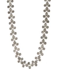 TMRW STUDIO - Metallic Antique Silver Plated Layered Spiral Cluster Necklace - Lyst