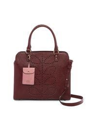 Orla Kiely - Multicolor Textured Leather Jeanie Bag - Lyst