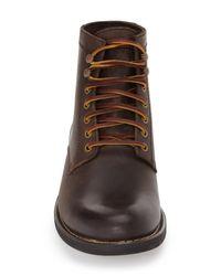 Eastland - Brown 'oakwood 1955' Plain Toe Boot for Men - Lyst