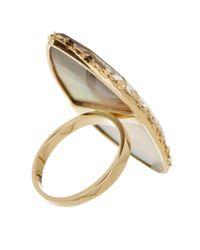 Lana Jewelry - Metallic 14k Gold Mystiq Marquis Ring - Size 7 - Lyst