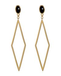 Gorjana - Metallic Dez Diamond-shape Drop Earrings - Lyst