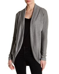 Heather by Bordeaux | Gray Cocoon Cardigan | Lyst