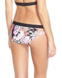 Seafolly | Multicolor 'beach' Split Band Hipster Bikini Bottoms | Lyst