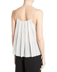 Elizabeth and James - White Posie Pleat Back Camisole - Lyst