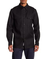 Rag & Bone - Black Hudson Regular Fit Shirt for Men - Lyst
