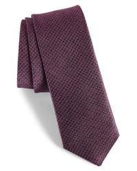 Ted Baker - Pink Geometric Silk Tie for Men - Lyst
