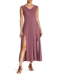 Noa Elle | Purple Demi Knit Dress | Lyst
