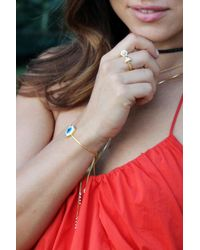 Liza Schwartz | Metallic Ultra Ring | Lyst