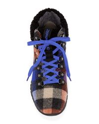 Cole Haan - Blue Zerogrand Hiker Wool Boot - Wide Width Available - Lyst