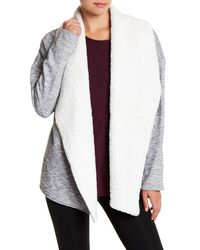 Gaiam - Multicolor Sia Faux Fur Lined Wrap - Lyst