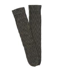 Spanx | Gray Chevron Sweater Socks | Lyst