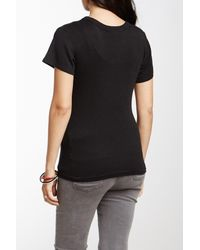 Michael Stars - Black Crew Neck Tee (maternity) - Lyst