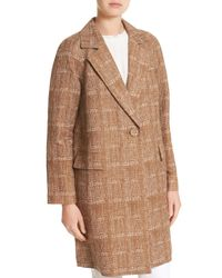 Lafayette 148 New York - Brown Lawson Coat - Lyst