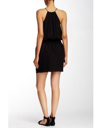 Joie - Black Nahal Silk Dress - Lyst