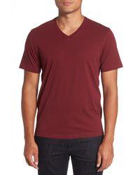 Zachary Prell - Red Mercer V-neck Slim Fit T-shirt for Men - Lyst