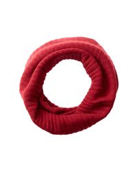 Portolano - Ashton Red Cashmere Snood for Men - Lyst