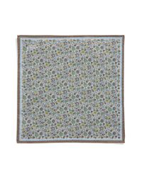 Eton of Sweden - White Floral Pocket Square for Men - Lyst
