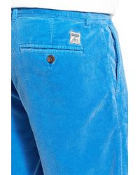 Surfside Supply - Blue Corduroy Short for Men - Lyst