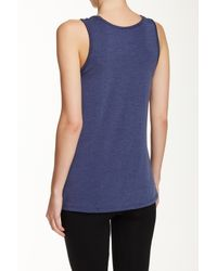 Brooks - Blue Distance Tank - Lyst