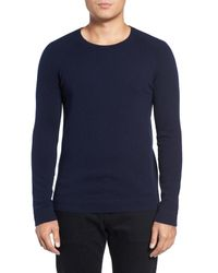 Theory | Blue Donners Cashmere Sweater for Men | Lyst