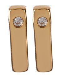 BaubleBar - Metallic Ice Bar Acrylic Accent Stud Earrings - Set Of 2 - Lyst