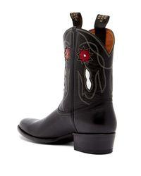 Frye | Black Rancher Flower Mid Boot for Men | Lyst