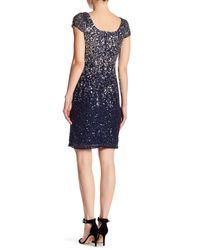 JS Boutique | Blue Ombre Sheath Cocktail Dress | Lyst