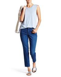 NYDJ | Blue Clarissa Ankle Jean (petite) | Lyst