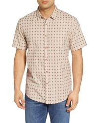 Billabong - Natural Sundays Jacquard Woven Shirt for Men - Lyst