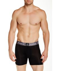 Psycho Bunny | Black Luxe Modal Boxer Brief for Men | Lyst