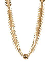 House of Harlow 1960 - Metallic Dorado Link Necklace - Lyst