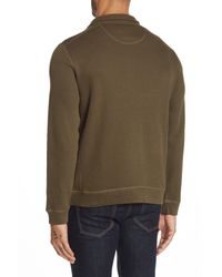 English Laundry - Green Quarter-zip Mock Neck Sweater for Men - Lyst