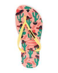 Havaianas - Multicolor Slim Cool Flip Flop Sandal (women) - Lyst