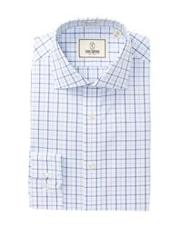 Todd Snyder | Blue Check Trim Fit Dress Shirt for Men | Lyst