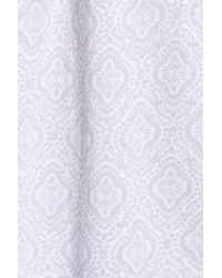 Carole Hochman - White Cotton Jersey Waltz Nightgown - Lyst