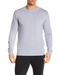 Threads For Thought - Multicolor Long Sleeve Pocket Tee for Men - Lyst