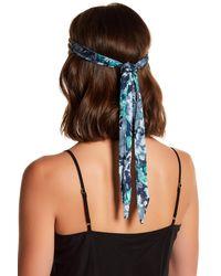 Cara - Multicolor Beaded Tie Headwrap - Lyst