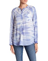 Casual Studio | Blue Tie-dye Shirt | Lyst