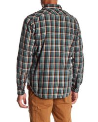 Timberland - Multicolor Plaid Long Sleeve Regular Fit Shirt for Men - Lyst