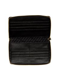 Steve Madden - Black Travel Wallet - Lyst