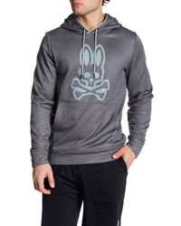 Psycho Bunny | Black Lounge Thermo Active Hoodie for Men | Lyst